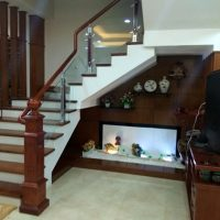 Cầu thang nhôm kính Juying No.JY2033