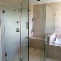 Cabin tắm kính cửa mở bản lề 135 độ