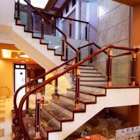 Cầu thang nhôm kính Juying No.JY 2002