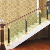 Cầu thang nhôm kính Yuying 2044
