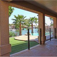 Lan can kính khu nghỉ dưỡng resort BN12