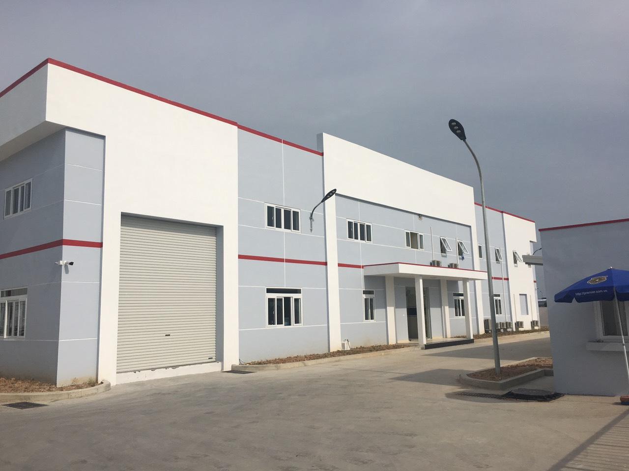 Nhà máy Spica Khu Công nghiệp Yên Phong Mở Rộng